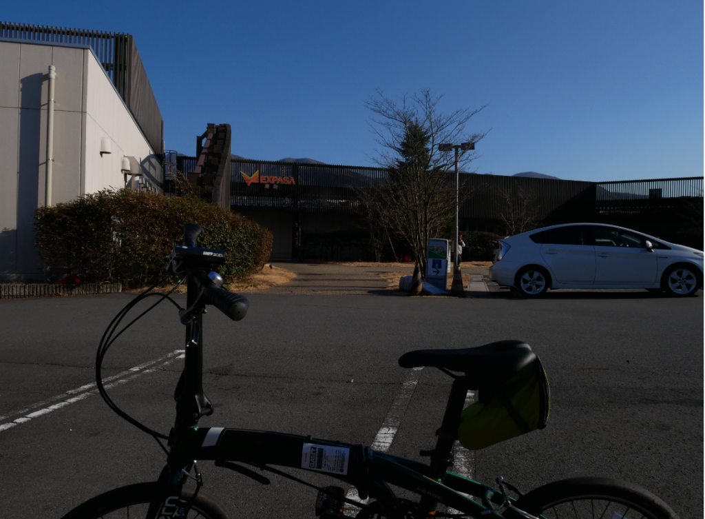 自転車でEXPASA足柄に挑む(1泊2日移動記録)